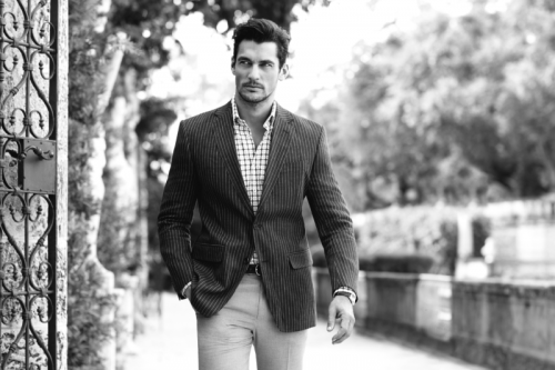 jaw3:  David Gandy for Mark & Spencer's Spring/Summer 2013 Collezione Campaign.