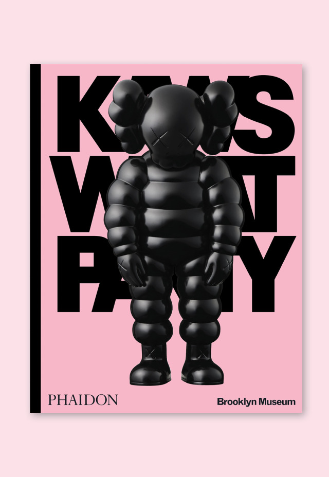 The newest KAWS: WHAT PARTY edition is now available for pre-order!Shipping in September 2021. #kawsbkm#kaws#kawswhatparty #kaws what party #exhibition catalogue#artist book#bkmshop#brooklyn museum