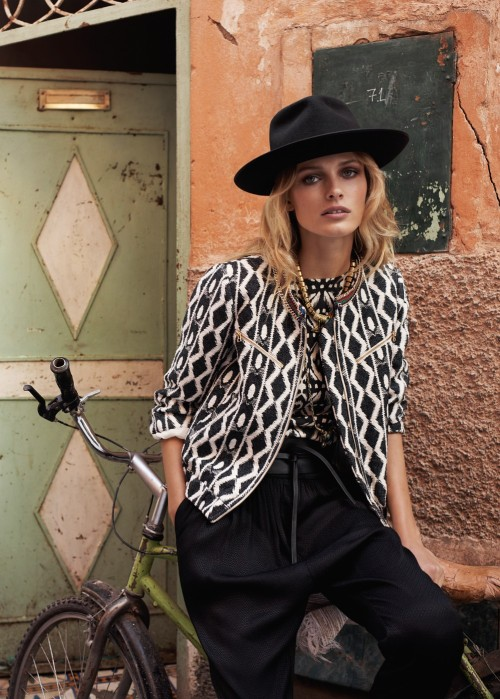 blackfridaynight:  stormtrooperfashion:  Edita Vilkeviciute for the Mango Summer 2013 Catalogue  .