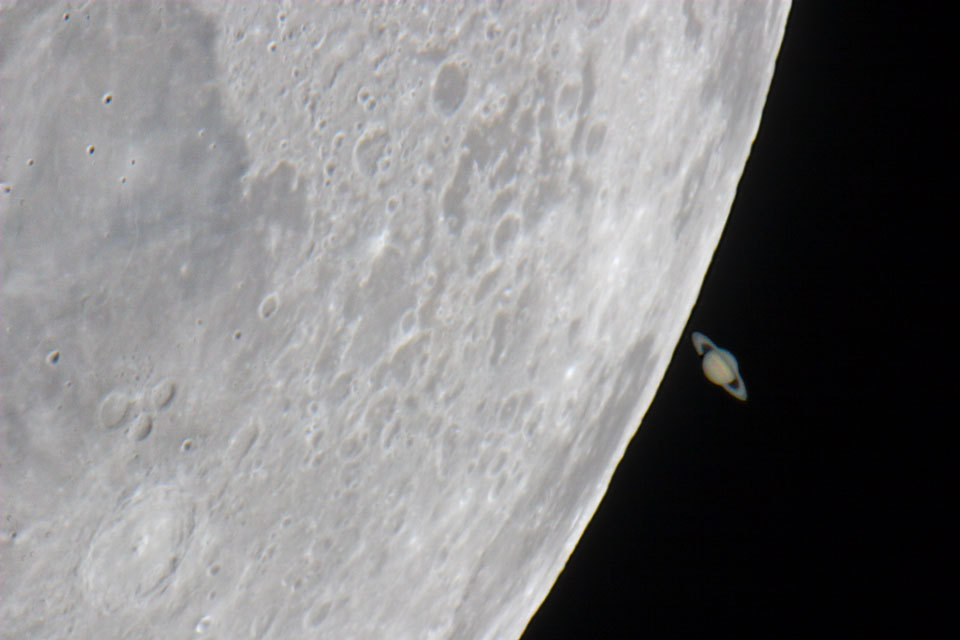 (via APOD: 2013 April 7 - The Moon's Saturn)
