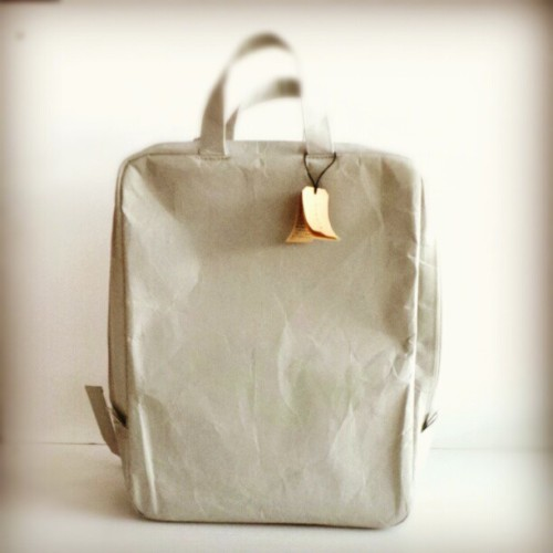Untearable paper backpack by Siwa #fashion #nuns #studionuns #mayplt