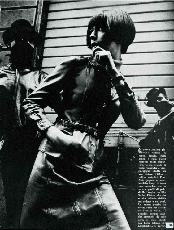 Photo by John Cowan for Vogue Italia February 1967