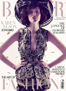 (via Glossy Newsstand: HARPER'S BAZAAR UK MAY 2013)
