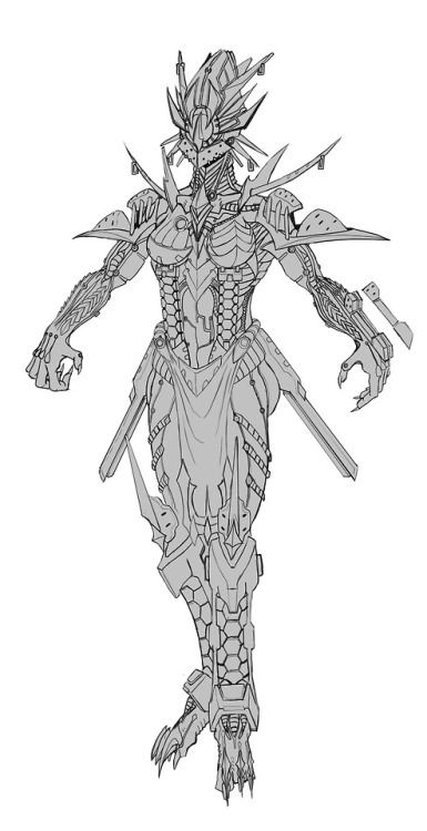 warframe valkyr tenno warframe valkyr wip artists on tumblr fanart concept art cyborg scifi android robot infestation