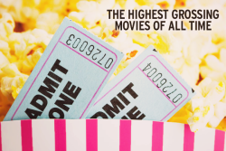iheartlambert:   The Highest Grossing Movies Of All Time  Gone With The Wind (1939) ~ $3,301,400,000 Watch Avatar (2009) ~ $2,782,275,172 Watch Star Wars (1977) ~ $2,710,800,000 Watch The Sound Of Music (1965) ~ $2,269,800,000 Watch Titanic (1997) ~ $2,185,372,302 Watch Jaws (1975) ~ $1,945,100,000 Watch Snow White & The Seven Dwarfs (1935) ~ $1,746,100,000 Watch Marvel's Avengers (2012) ~ $1,511,757,910 Watch Harry Potter & The Deathly Hallows pt.2  (2011) ~ $1,341,511,219 Watch Transformers: Dark Of The Moon (2011) ~ $1,123,746,996 Watch The Lord Of The Rings: The Return Of The King (2003) ~ $1,119,929,521 Watch Skyfall (2012) ~ $1,108,561,013 Watch The Dark Knight Rises (2012) ~ $1,084,439,099 Watch Pirates Of The Caribbean: Dead Man's Chest (2006) ~ $1,066,179,725 Watch Toy Story 3 (2010) ~ $1,063,171,911 Watch Pirates Of The Caribbean: On Stranger's Tides (2011) ~ $1,043,871,802 Watch Star Wars Episode I: The Phantom Menace (1999) ~ $1,027,044,677 Watch Alice In Wonderland (2010) ~ $1,024,299,904 Watch The Hobbit:An Unexpected Journey (2012) ~ $1,017,003,568 Watch The Dark Knight (2008) ~ $1,004,558,444 Watch Harry Potter & The Philosopher's Stone (2001) ~ $974,755,371 Watch Jurassic Park (1993) ~ $967,386,857 Watch Pirates Of The Caribbean: At World's End (2007) ~ $963,420,425 Watch Harry Potter & The Deathly Hallows pt.1 (2010) ~ $960,283,305 Watch Lion King (1994) ~$951,583,777 Watch Harry Potter & The Order Of The Phoenix (2007) ~ $939,885,929 Watch Harry Potter & The Half Blood Prince (2009) ~ $934,416,487 Watch The Lord Of The Rings: The Two Towers (2002) ~ $926,047,111 Watch Finding Nemo (2003) ~ $921,743,261 Watch Shrek 2 (2004) ~ $919,838,758 Watch Harry Potter & The Goblet Of Fire (2005) ~ $896,911,078 Watch Spider-Man 3 (2007) ~ $890,871,626 Watch Ice Age: Dawn Of The Dinosaurs (2009) ~ $886,686,817 Watch Harry Potter & The Chamber Of Secrets (2002) ~ $878,979,634 Watch Ice Age: Continental Draft (2012) ~ $877,244,782 Watch The Lord Of The Rings: The Fellowship Of The Ring (2001) ~ $871,530,324 Watch Star Wars III: Revenge Of The Sith (2005) ~ $848,754,768 Watch Transformers: Revenge Of The Fallen (2009) ~ $836,303,693 Watch Twilight Saga: Breaking Dawn pt.2 (2012) ~ $829,685,377 Watch Inception (2010) ~ $825,532,764 Watch Spider-Man (2002) ~ $821,708,551 Watch Independence Day (1996) ~ $817,400,891 Watch Shrek The Third (2007) ~ $798,958,162 Watch Harry Potter & The Prisoner Of Azkaban (2004) ~ $796,688,549 Watch Iron Man 3 (2013) ~ $795,578,000 Watch E.T. The Extra-Terrestrial (1982) ~ $792,910,554 Watch Indiana Jones & The Kingdom Of The Crystal Skull (2008) ~ $786,636,033 Watch Spider-Man 2 (2004) ~ $783,766,341 Watch 2012 (2009) ~ $769,679,473 Watch The Da Vinci Code (2006) ~ $758,239,851 Watch