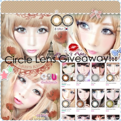 Yea! Going to be having a Circle Lens giveaway. 😘 Thank you @circlelens2u ✌ So 2 lucky winners will be winning any CL of their choice, ill have more info on it later. Video will be up this week! Look forward to it. 😀 #circlelens #circlelens2u #giveaway