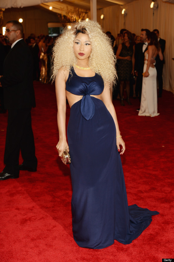 Nicki looks stunning