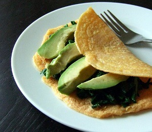 findvegan:  Red lentil crepes - with just three ingredients.