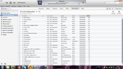 I have so much variety in my most played list