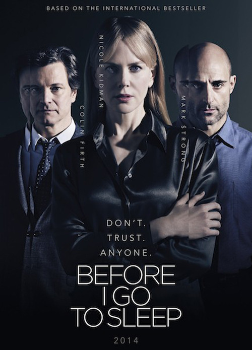 Before I Go to Sleep  (2014)  poster