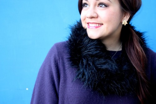 Chill Frill (by Blue Vanilla)BLUE VANILLA's January Fashion Blogger Adiel from It's Because I Think Too Much.  More on her blog IBITTM http://www.itsbecauseithinktoomuch.com/2013/01/chill-frill.html