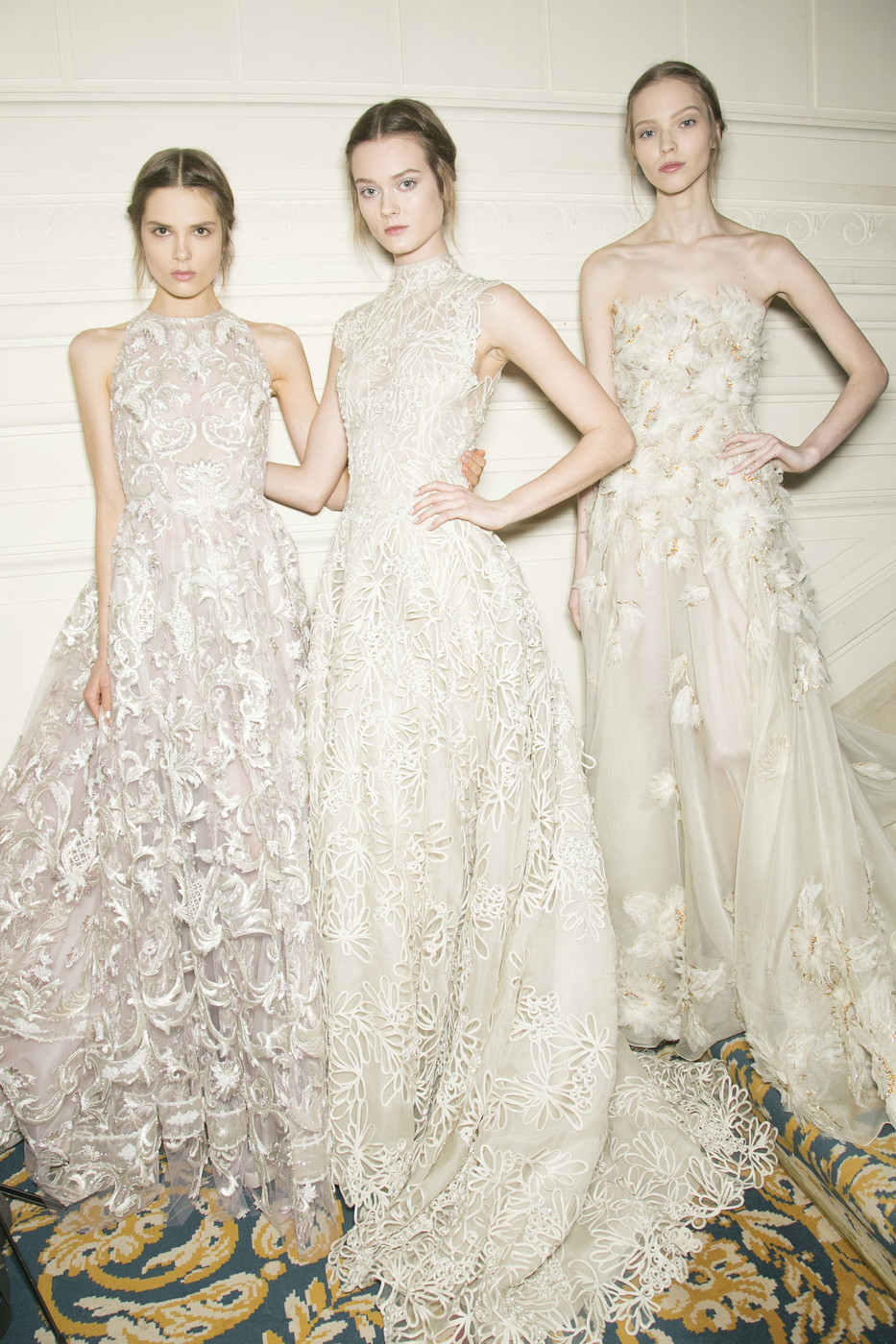 monsieur-j:  Valentino S/S 2013 Couture Backstage