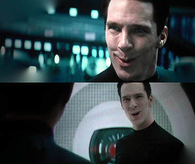 Also Cumberbatch making this face I don't even know what to do with.  :>