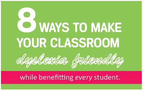 Classroom accommodations that benefit all students: 1) Provide one direction at a time; 2) Provide visual representation of instructions; 3) Preview and review; 4) Warn students when activities are about to change; 5) Limit instruction segments to 15 minutes and vary the activities; 6) Use a visual outline or note-taker; 7) Slow down; 8) Assume nothing and connect everything. Read the full article here.