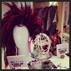 #punkedup #headpiece by @ottdubai for #ballgownsgonepunk party! #supercool #sauceloves #metgala #punk #punkupthevolume