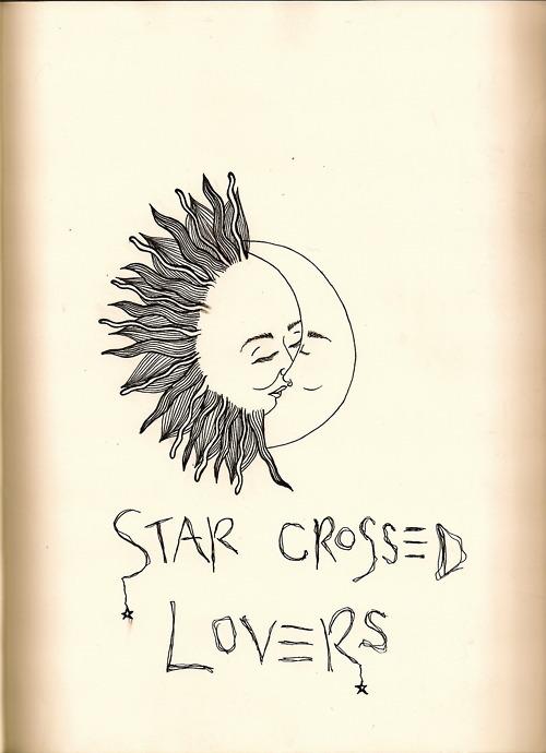 sun moon tattoo on Tumblr