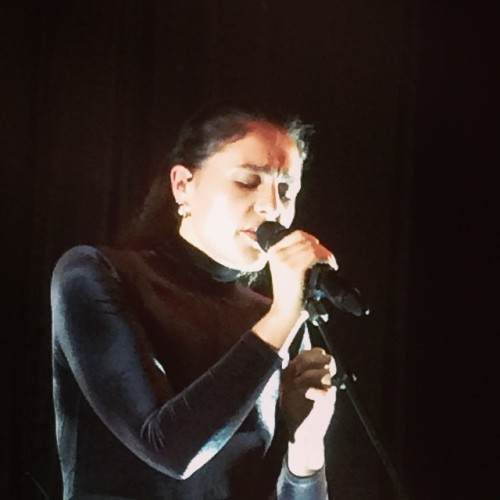 JESSIE WARE ON ALBUM RELEASE DAY. LIFE MADE.  (at The Chapel)