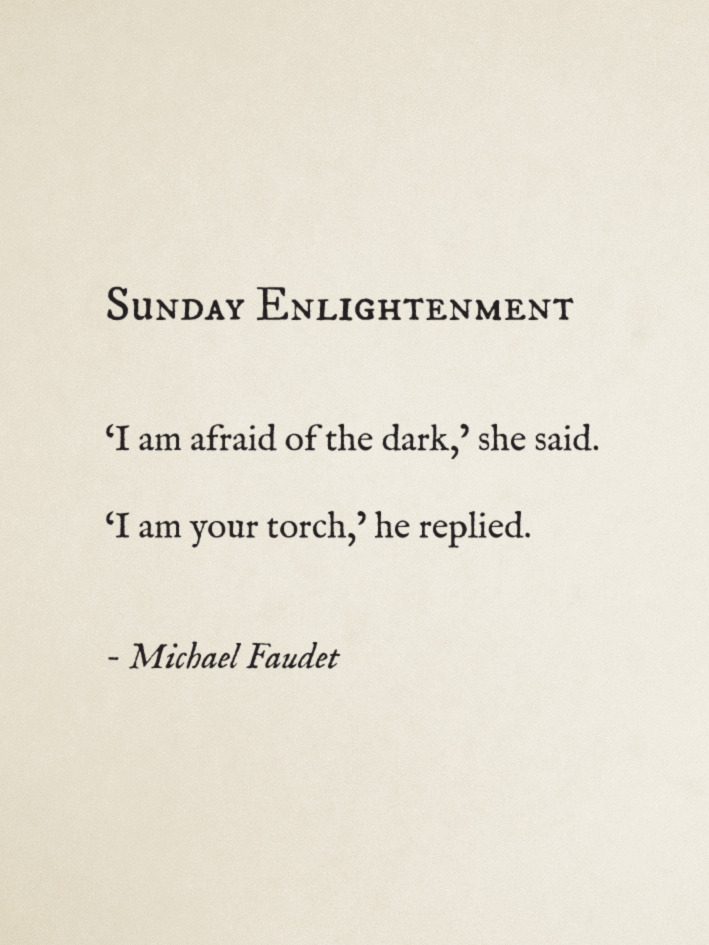 blossom-days:  michaelfaudet:  Sunday Enlightenment by Michael Faudet  following back similar xo
