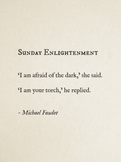 modernhepburn:  michaelfaudet:  Sunday Enlightenment by Michael Faudet  .