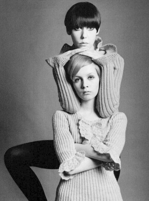 Peggy Moffitt & Twiggy