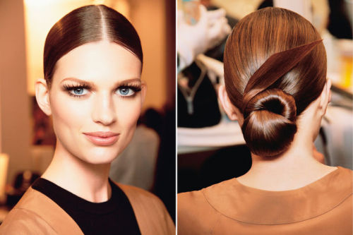 glamour:  5 spring hairstyles you'll love from the front and back.