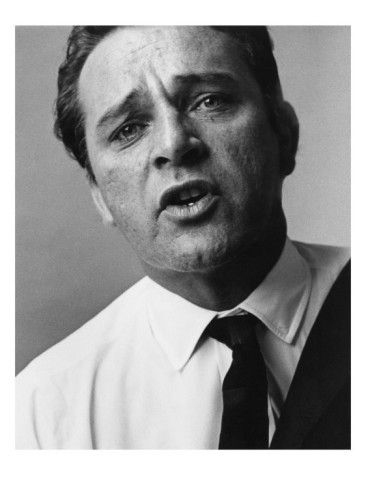 Richard Burton by Bert Stern for Vogue, Sep 1963.