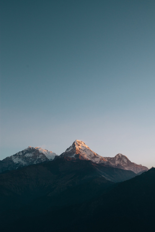 touchdisky:  Annapurna Mountains, Nepal by dave.dave.dave