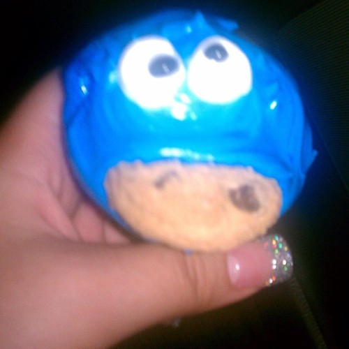 Cupcake made by my aunt 😻
