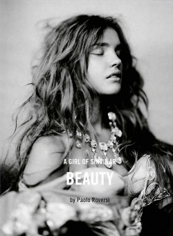 "labsinthe:  ""A Girl Of Singular Beauty"" by Paolo Roversi with Natalia Vodianova"