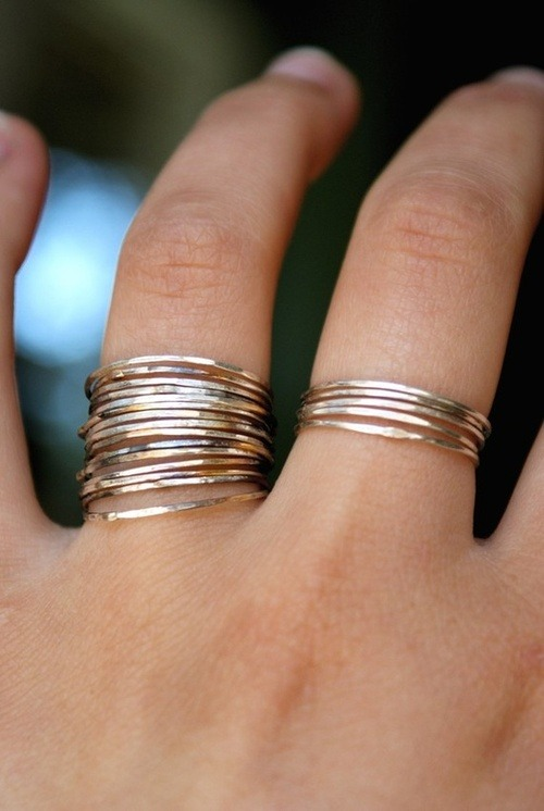 Love those rings!