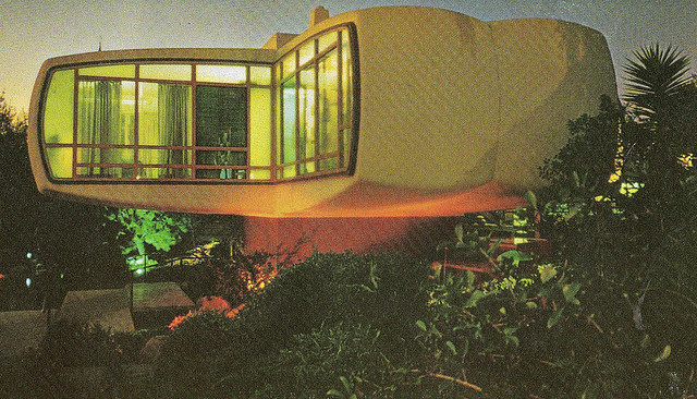 "excitingsounds:  Monsanto's Home Of The Future Brochure by Drive-In Mike on Flickr.""The coolest house of all time!"""