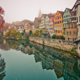 "(via 500px / Photo ""Fog over Tübingen"" by Thomas Hentrich)"