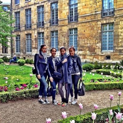 Paris, France  May 2013 #TwoSetsofSisters
