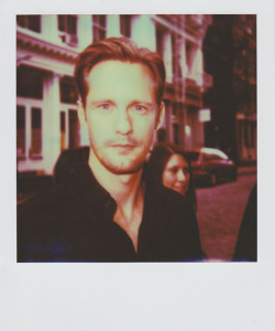 "portroids:  Alexander Skarsgard - Because ""True Blood"" is coming back soon."