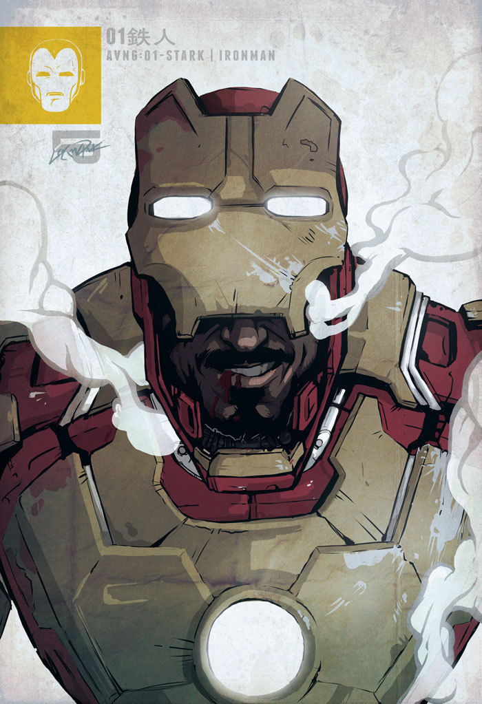 wemporium:  Iron Man MARK XLVII - Avengers Series 1/Tony Stark by *cheshirecatart
