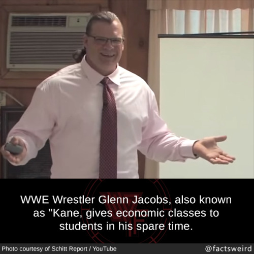WWE wrestling Glenn Jacobs facts people