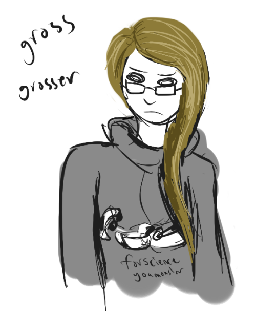 doodle of outfit im wearing it's digi's gladdy hoodie i bought for christmas only looking a lot worse