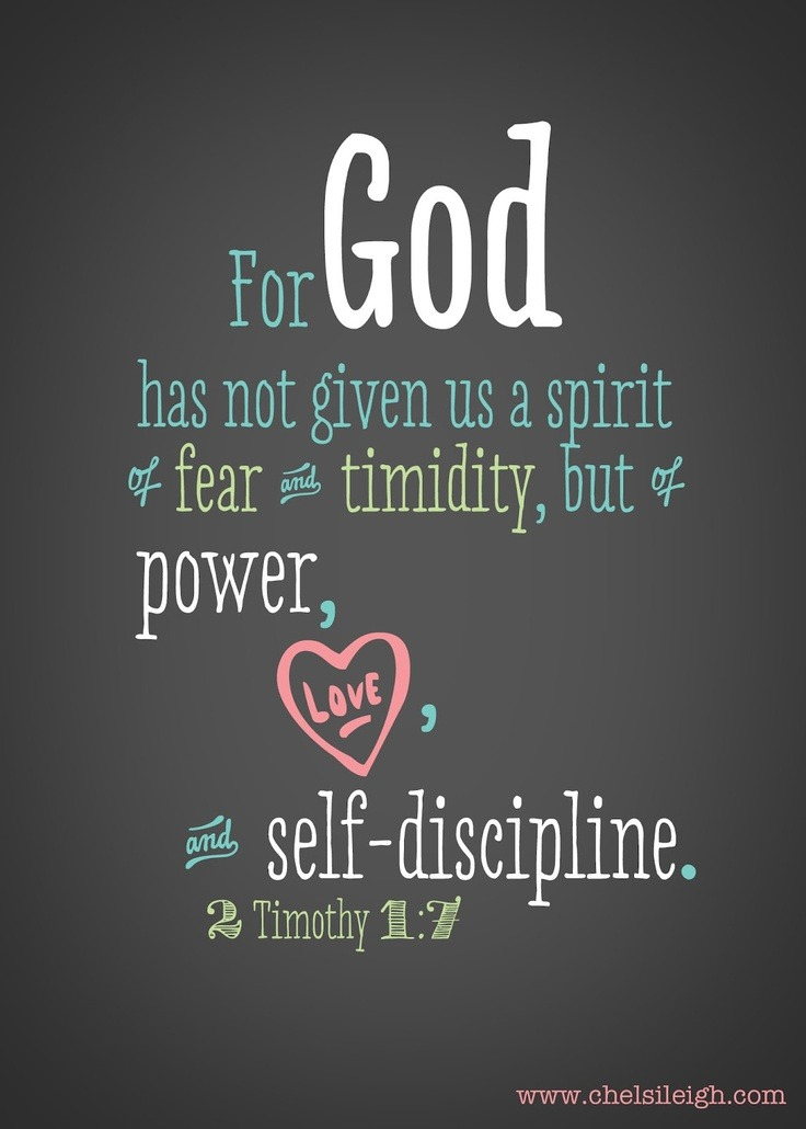 ibibleverses:  2 Timothy 1:7Follow us at http://gplus.to/iBibleverses