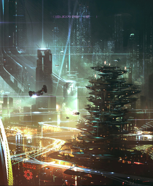 metropolisoftomorrow:  Cloud Atlas concept art detail by George Hull
