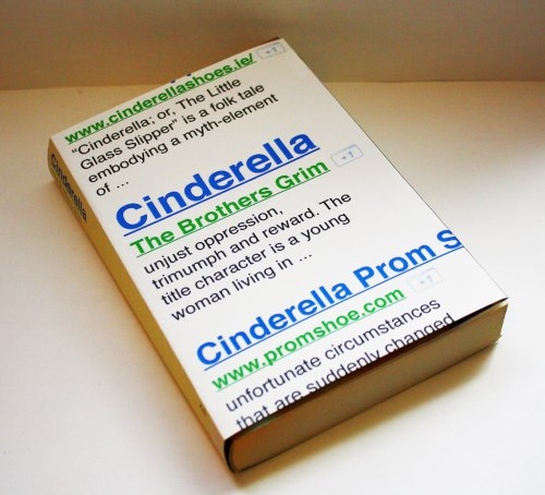 Book cover redesign for Cinderella , Yang Kim