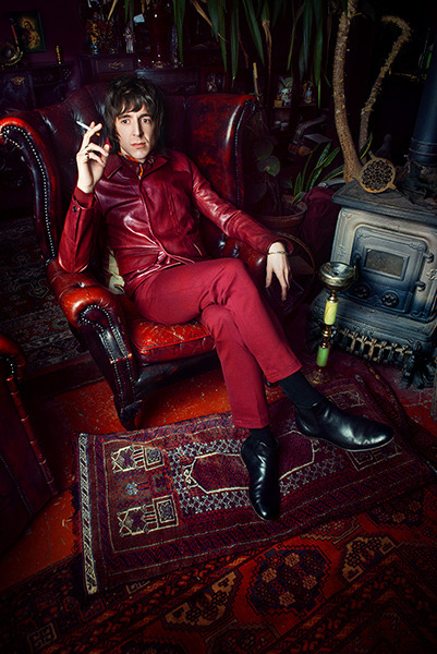 MILES KANE FOR BRITISH GQ. LONDON. MARCH 2013 Photo: Dylan Don
