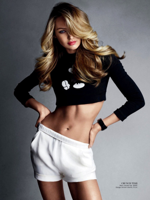 leahcultice:  Candice Swanepoel by Victor Demarchelier for Vogue Australia June 2013