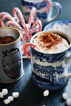 Christmas hot chocolate candy cane cinnamon marshmallow candy canes christmas blog
