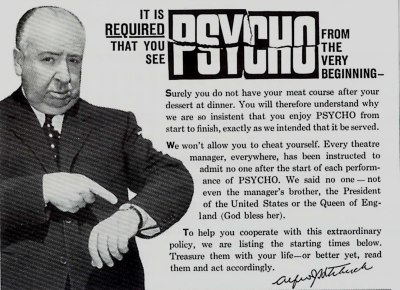 beautyandterrordance:  It is required that you see Psycho from the very beginning.