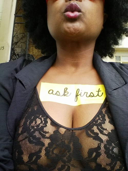 askfirstcampaign:Consent is sexy! #ASKFIRST