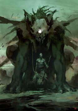 Monsters fantasy concept art digital art Digital Painting fantasy art fantasy illustration fantasy painting