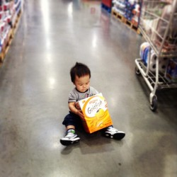 What do you mean 'Wait till we get home'? (at Costco)
