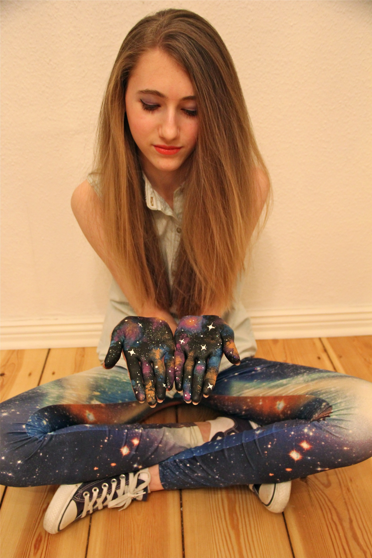 the universe is in our hands my best friend is so beautiful, love her <3
