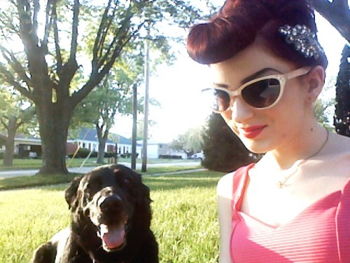 Hope ya'll are enjoying this sunny day as much as we are! <3 Dezzy & Megan