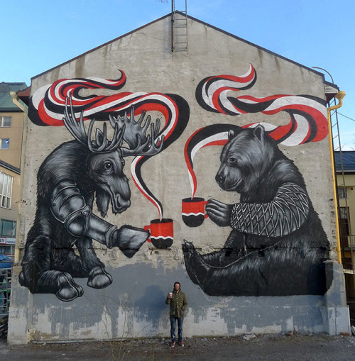 streetartglobal:  By Pallo in Finland.